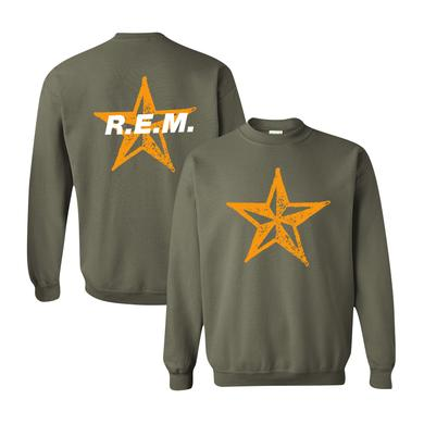 R.E.M. Star Throwback Crewneck Sweatshirt