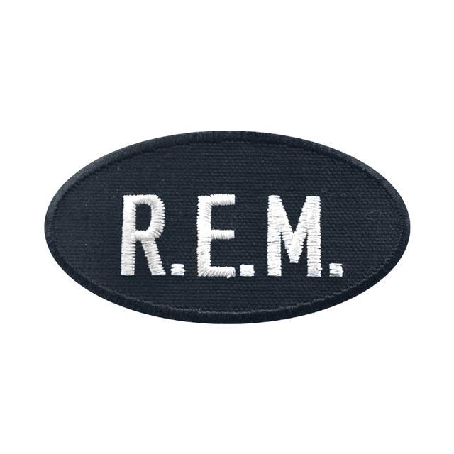 R.E.M. Logo Patch