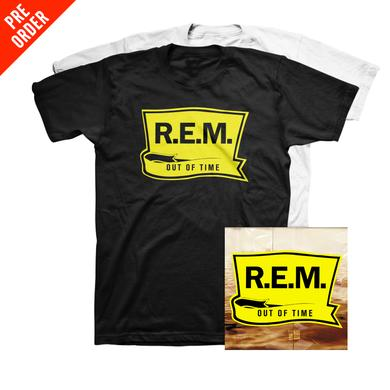 R.E.M. Out of Time 25th Anniversary - Standard Vinyl + Tee
