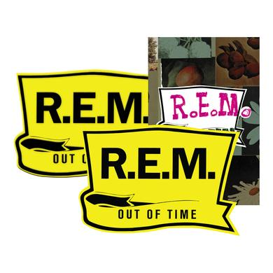R.E.M. Out of Time Sticker + Patch