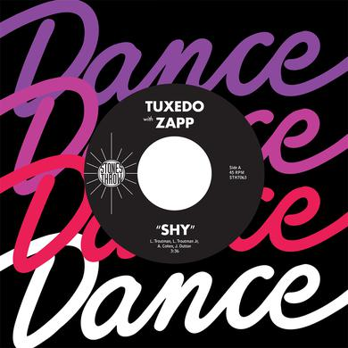 """Mayer Hawthorne Tuxedo with Zapp """"Shy"""" 7"""""""