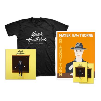 Mayer Hawthorne T-Shirt + Poster Bundle