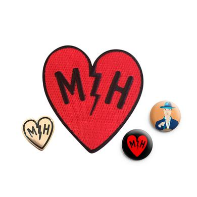 Mayer Hawthorne Button & Patch Bundle