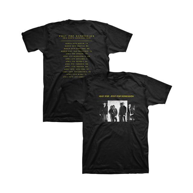 Iggy Pop Album Cover Unisex Tour Tee