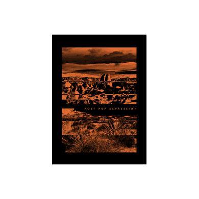 Iggy Pop Desert Canvas Back Patch
