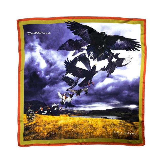 David Gilmour Rattle That Lock Silk Scarf