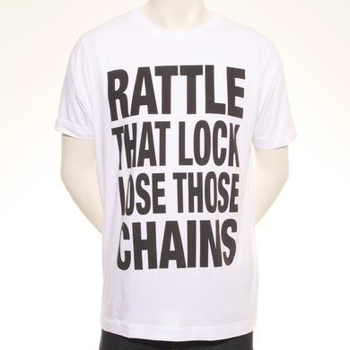 David Gilmour Lose Those Chains European Tour T-Shirt