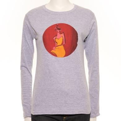 David Gilmour Ladies Cartoon RTL Long Sleeve T-Shirt