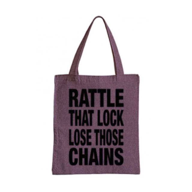 David Gilmour Rattle That Lock Denim Tote Bag