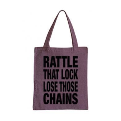 David Gilmour Rattle That Lock Denim Tote Bag