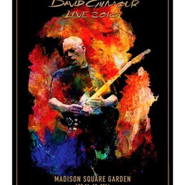 David Gilmour Live 2016 Madison Square Garden Lithograph