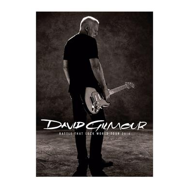 David Gilmour Rattle That Lock Tour Program