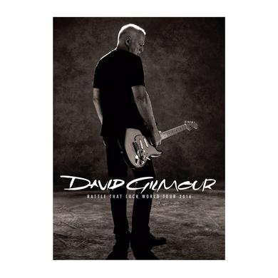 David Gilmour Rattle That Lock Tour Program