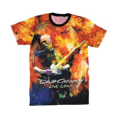 David Gilmour Rattle That Lock Brushstroke 2016 Men's All-Over Print