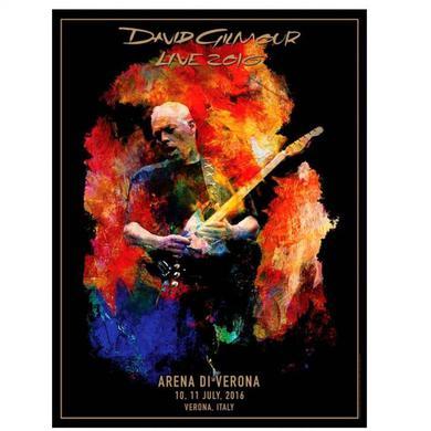 David Gilmour PRE-ORDER:  Verona Lithograph