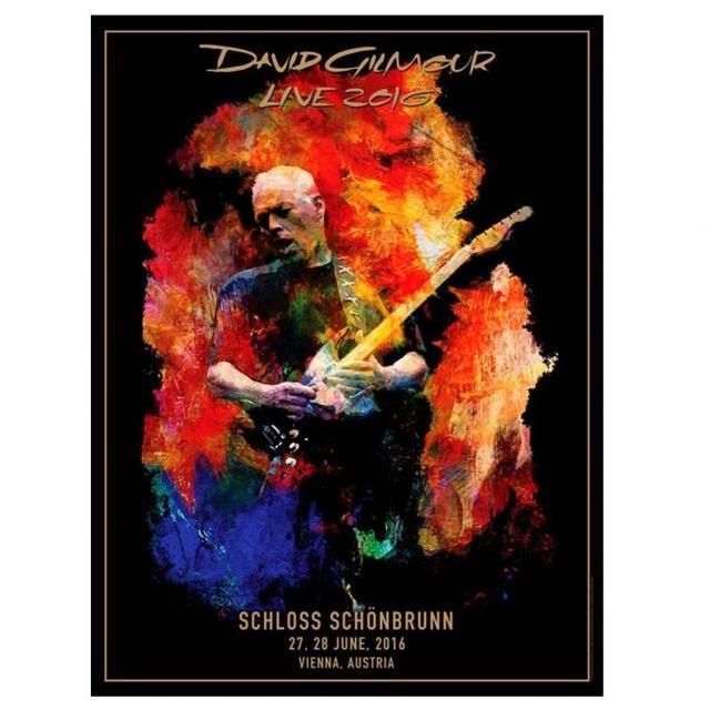 David Gilmour PRE-ORDER:  Vienna Lithograph