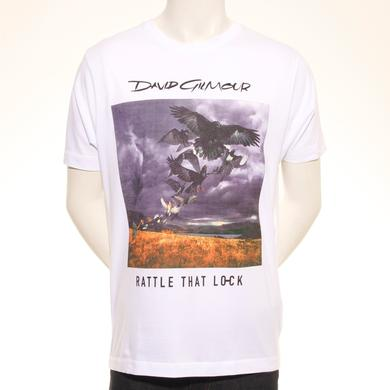 David Gilmour Rattle That Lock Cover  European Tour T-Shirt