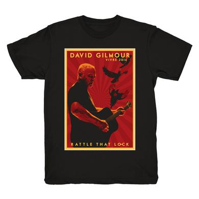 David Gilmour Europe 2016 France Event T-Shirt