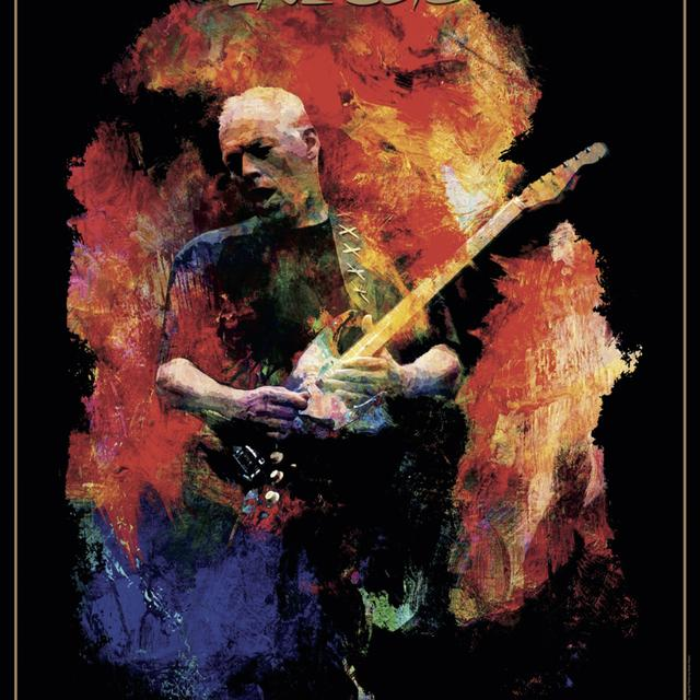 David Gilmour Live 2016 Hollywood Bowl Lithograph