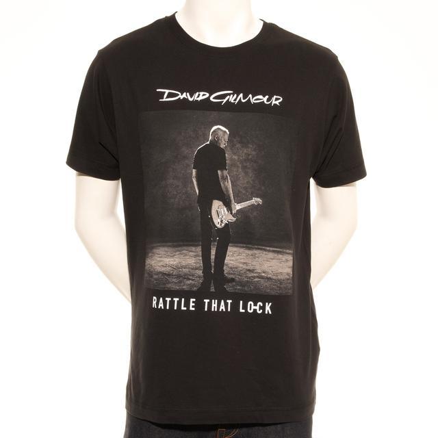 David Gilmour Rattle That Lock Sepia Photo European Tour T-Shirt