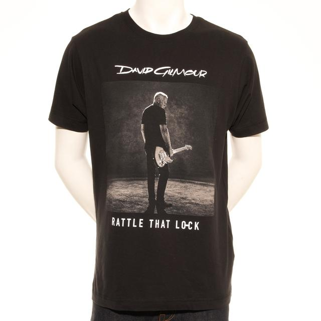David Gilmour Rattle That Lock Sepia Photo European Tour T-Shirt