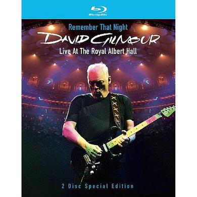 David Gilmour Remember That Night Blu-Ray