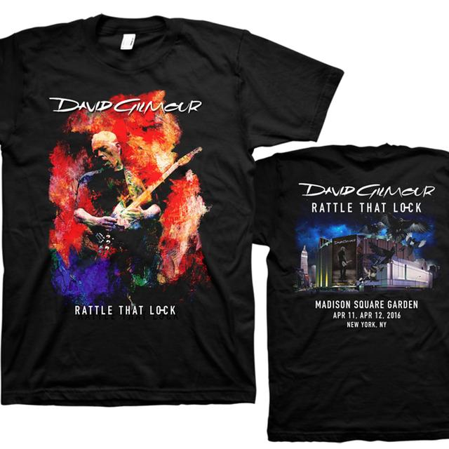 David Gilmour Madison Square Garden Event T-Shirt