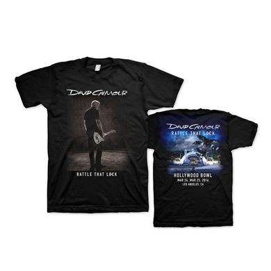 David Gilmour Rattle That Lock Hollywood Bowl T-Shirt