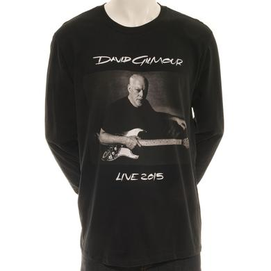David Gilmour Rattle That Lock Long Sleeve Photo T-Shirt