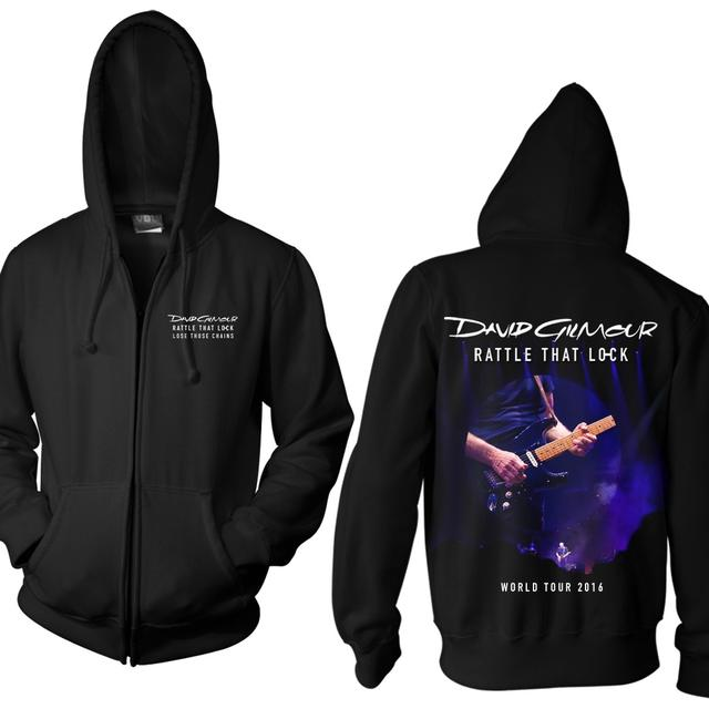 David Gilmour Rattle That Lock Live Photo Hoodie
