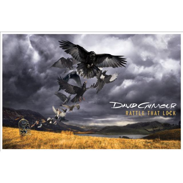David Gilmour Rattle That Lock Lithograph