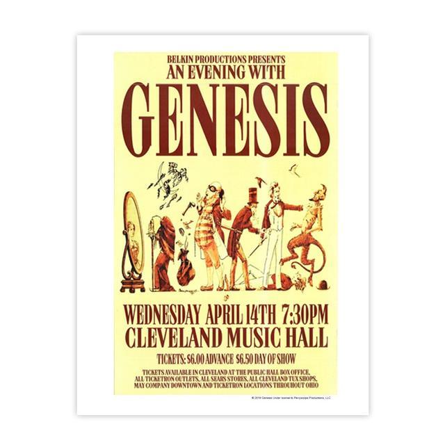 Genesis An Evening With Fine Art Print