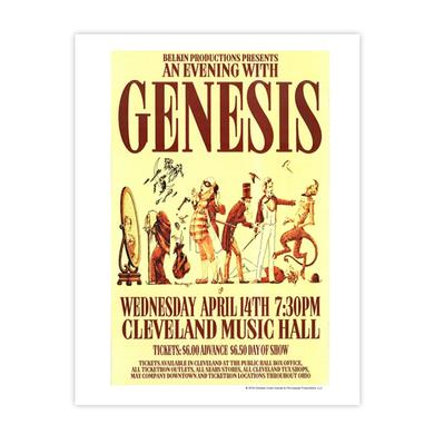 Genesis An Evening With Fine Art Print