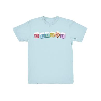 Genesis Blue Abacab Blocks Youth T-Shirt