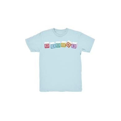 Genesis Blue Abacab Blocks Kids T-Shirt