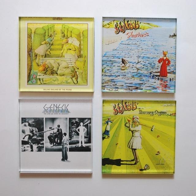 Genesis Album Cover Chunky Magnet Set