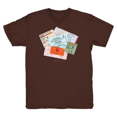 Genesis Tickets To Hear T-Shirt (Brown)