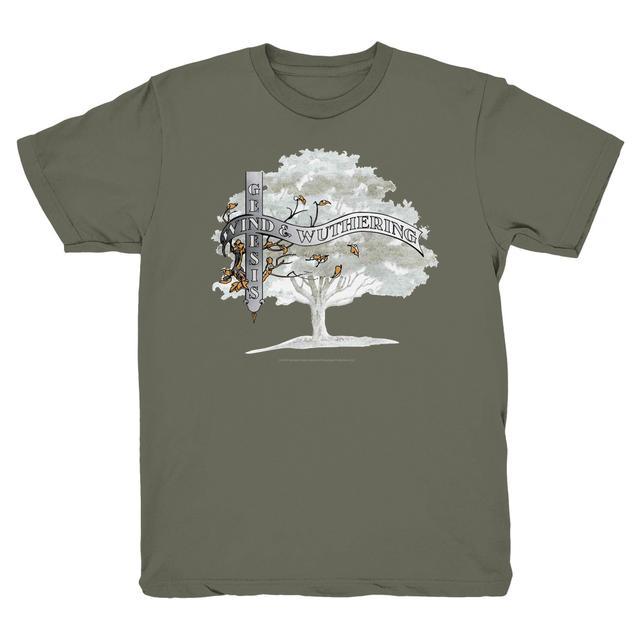 Genesis Wind & Wuthering Birded Tree T-Shirt (Grey)