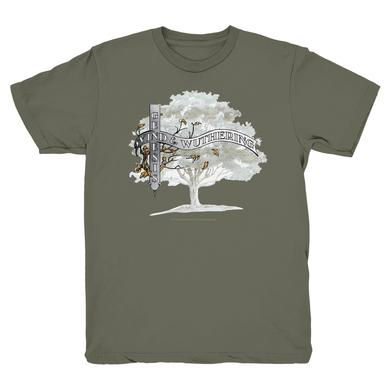 Genesis Wind & Wuthering Birded Tree T-Shirt (Grey)