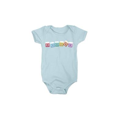 Genesis Blue Abacab Blocks Onesie