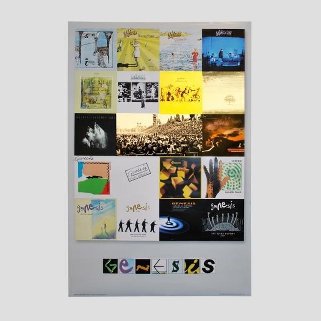 Genesis Album Covers Poster