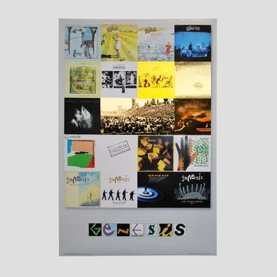 Genesis Album Covers Poster