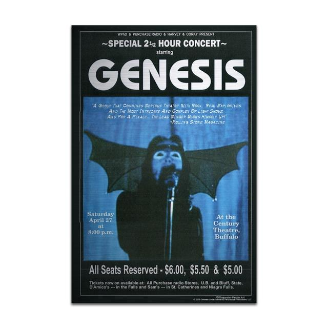 Genesis Vampire Pete Aluminum Print