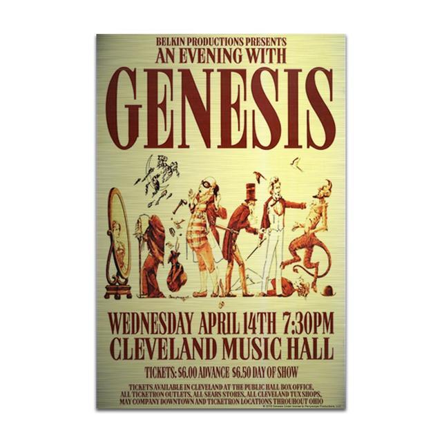 Genesis An Evening With Aluminum Print