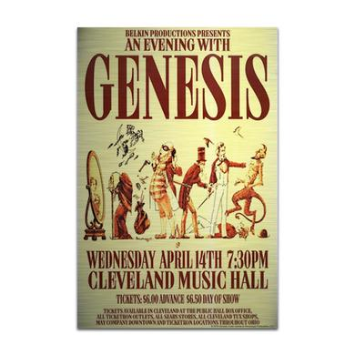 Genesis An Evening With Aluminum Print