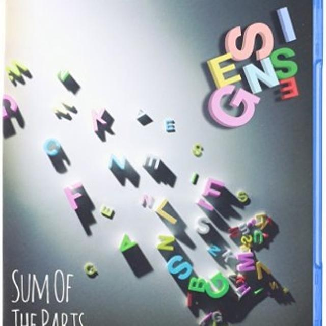 Genesis Sum Of The Parts Blu-Ray