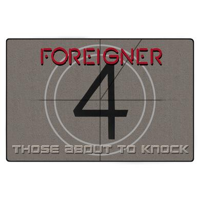 Foreigner 4 Those About To Knock Door Mat