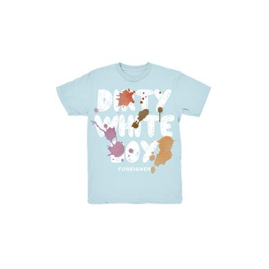 Foreigner Blue Dirty White Boy Kids T-Shirt