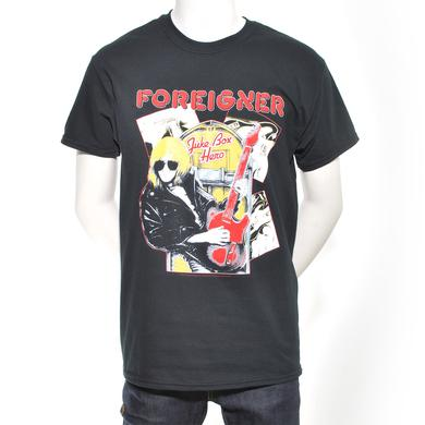 Foreigner Jukebox Guitar T-Shirt
