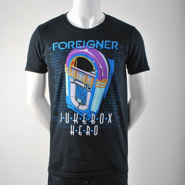 Foreigner Jukebox Hero T-Shirt